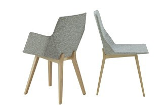 Elsa dining chair wood foot