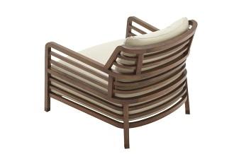 Flax armchair high back