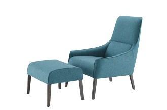 Long Island armchair & stool