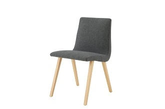 TV dining chair ash foot