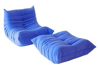 Togo armchair & stool